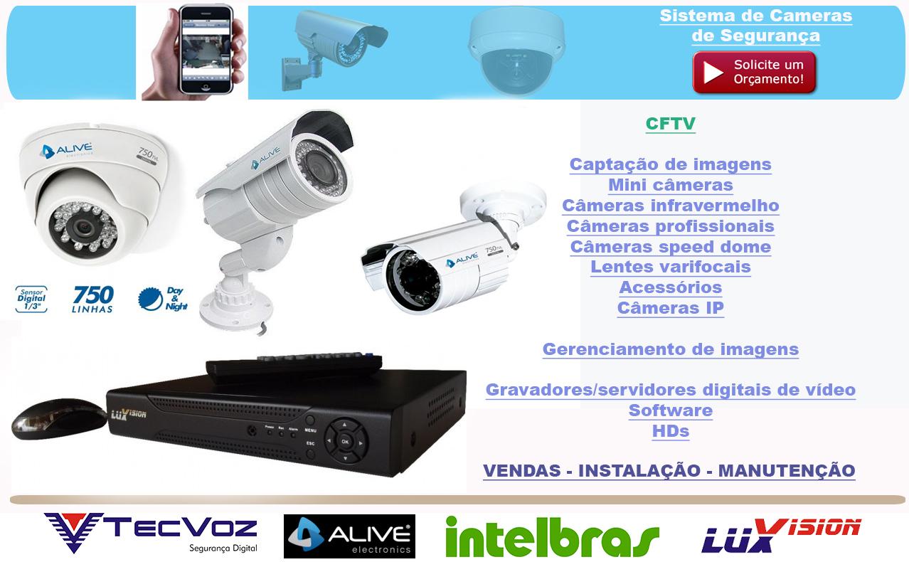Top instalador câmeras segurança - Instalação de câmera de segurança  VB72