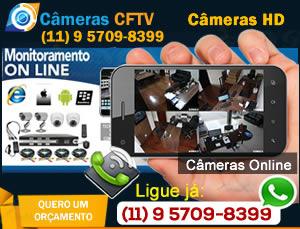 Câmeras Zona Norte SP Segurança